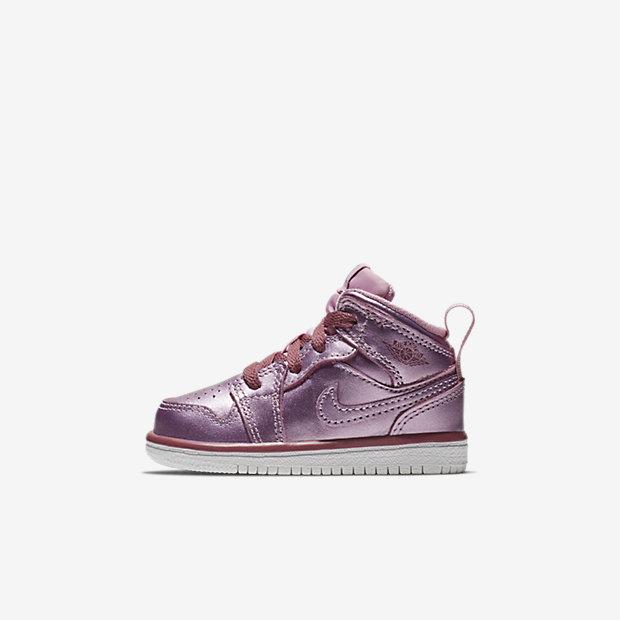 Air Jordan 1 Mid Pink Rise (TDサイズ)