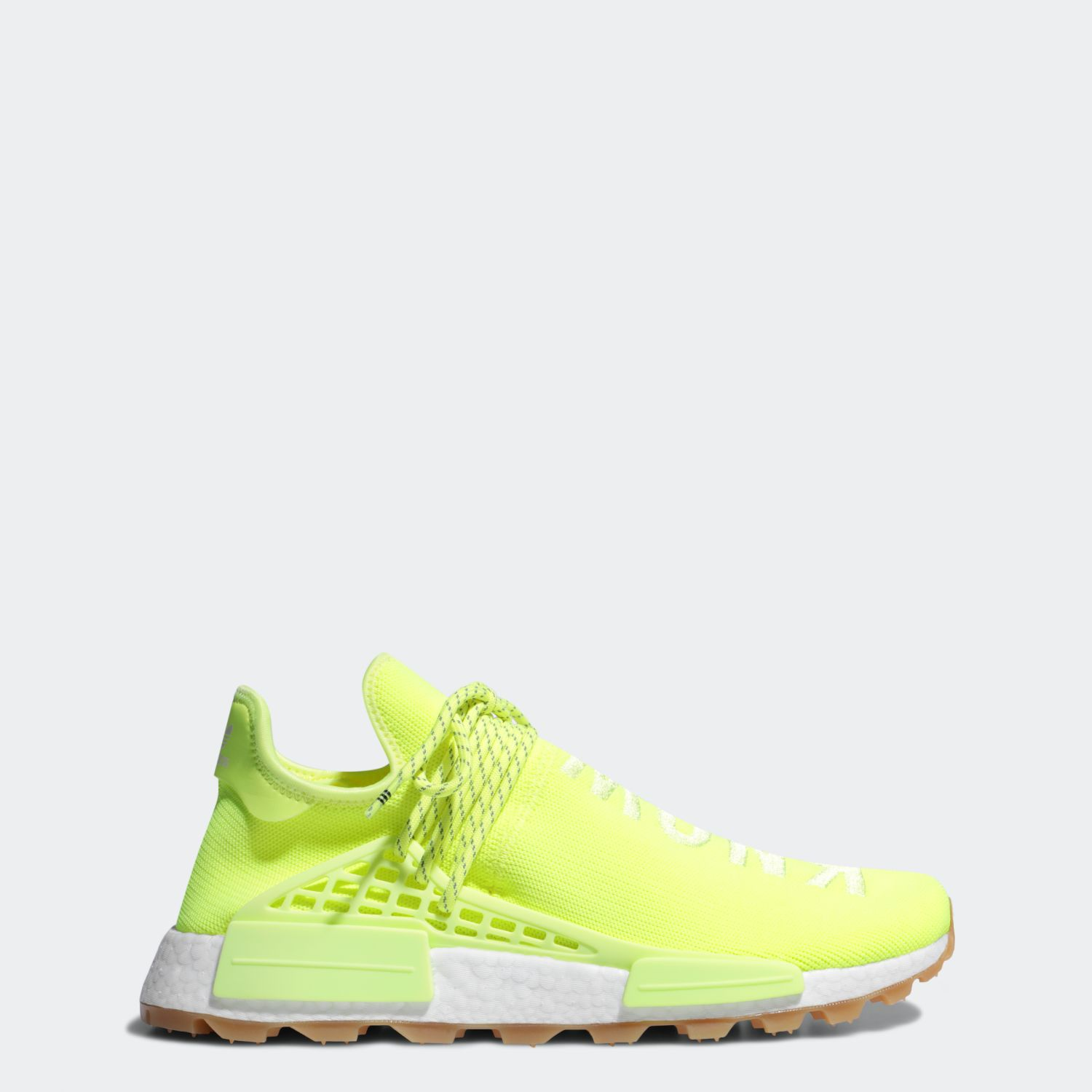 NMD Hu Trail Pharrell Now Is Her Time Solar Yellow