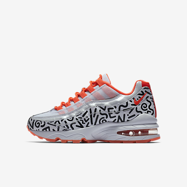 Air Max 95 White Black Crimson (GSサイズ)