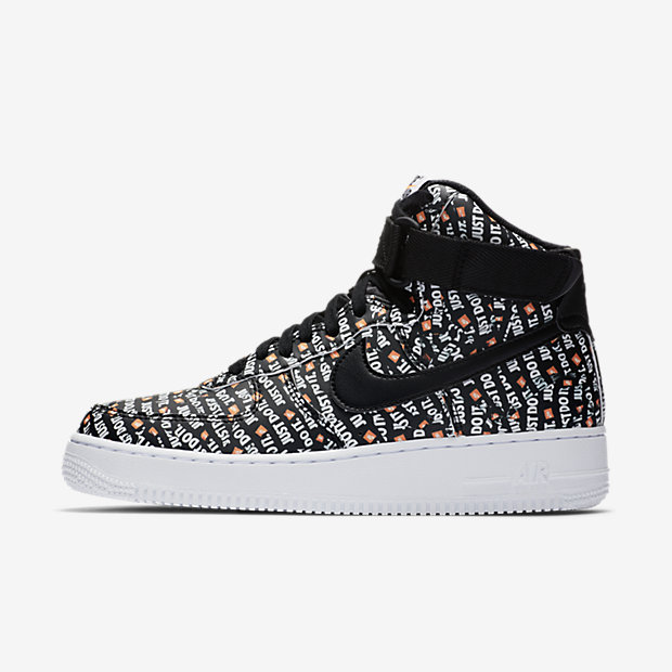 Air Force 1 High Just Do It Pack Black (ウィメンズ)
