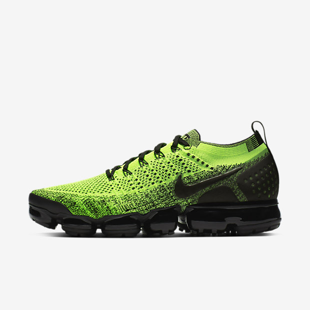 Air VaporMax Flyknit 2 Volt Black