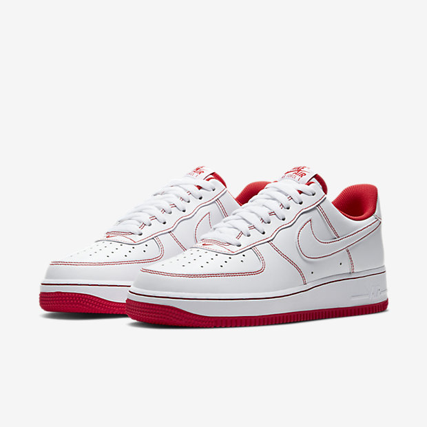 Air Force 1 Low White/ Radiant Red [4]