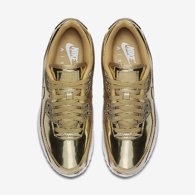 Air Max 90 Metallic Gold 2020 (ウィメンズ) [3]