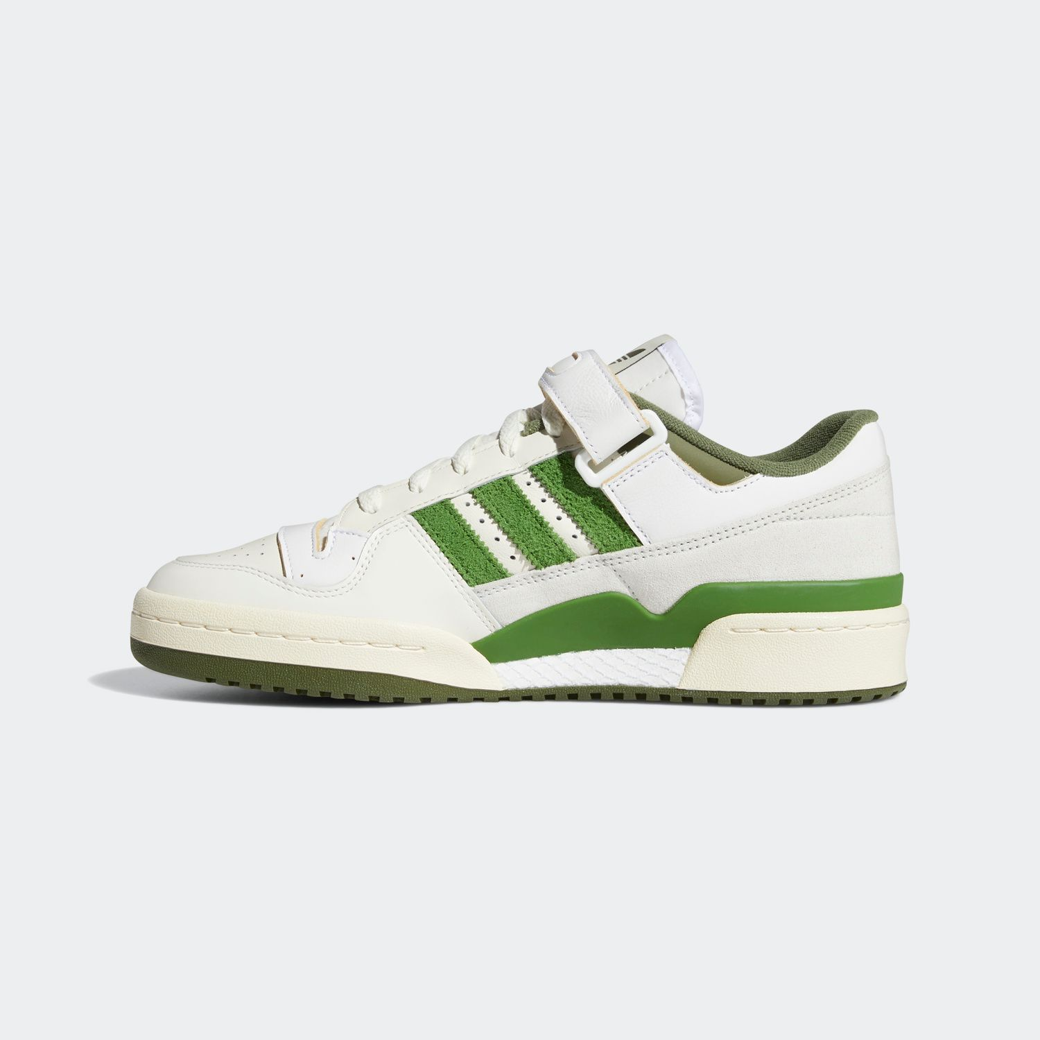 FORUM 84 Low White / Crew Green [2]