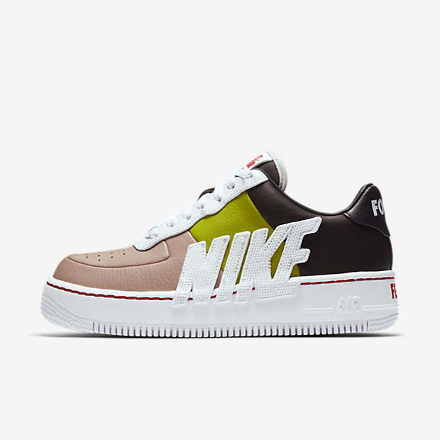 Air Force 1 Upstep Force Is Female Port Wine Bright Cactus (ウィメンズ)