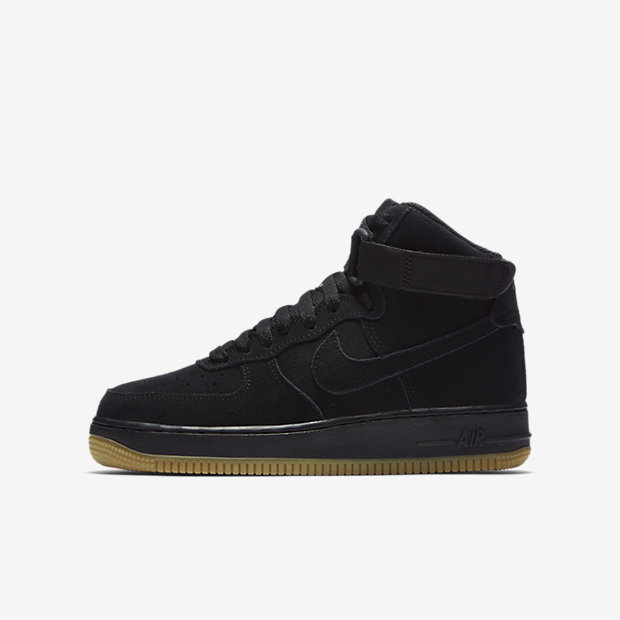 Air Force 1 High Suede Black Gum (GS)