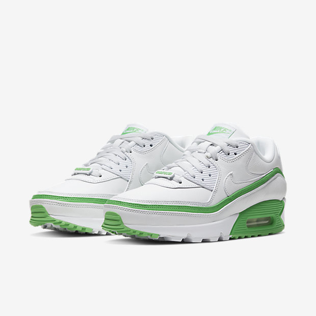 Air Max 90 Undefeated White Green [4]