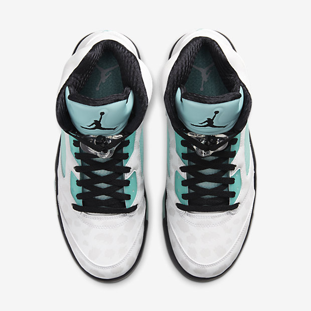Air Jordan 5 Retro Island Green [3]