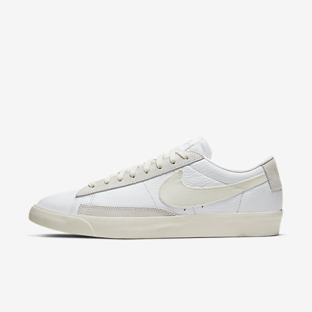 Blazer Low Leather White Sail (ブレーザー) [1]