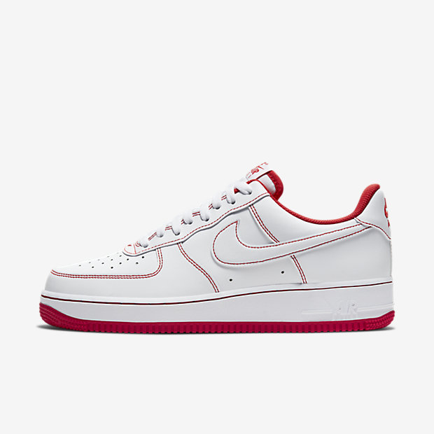 Air Force 1 Low White/ Radiant Red [1]