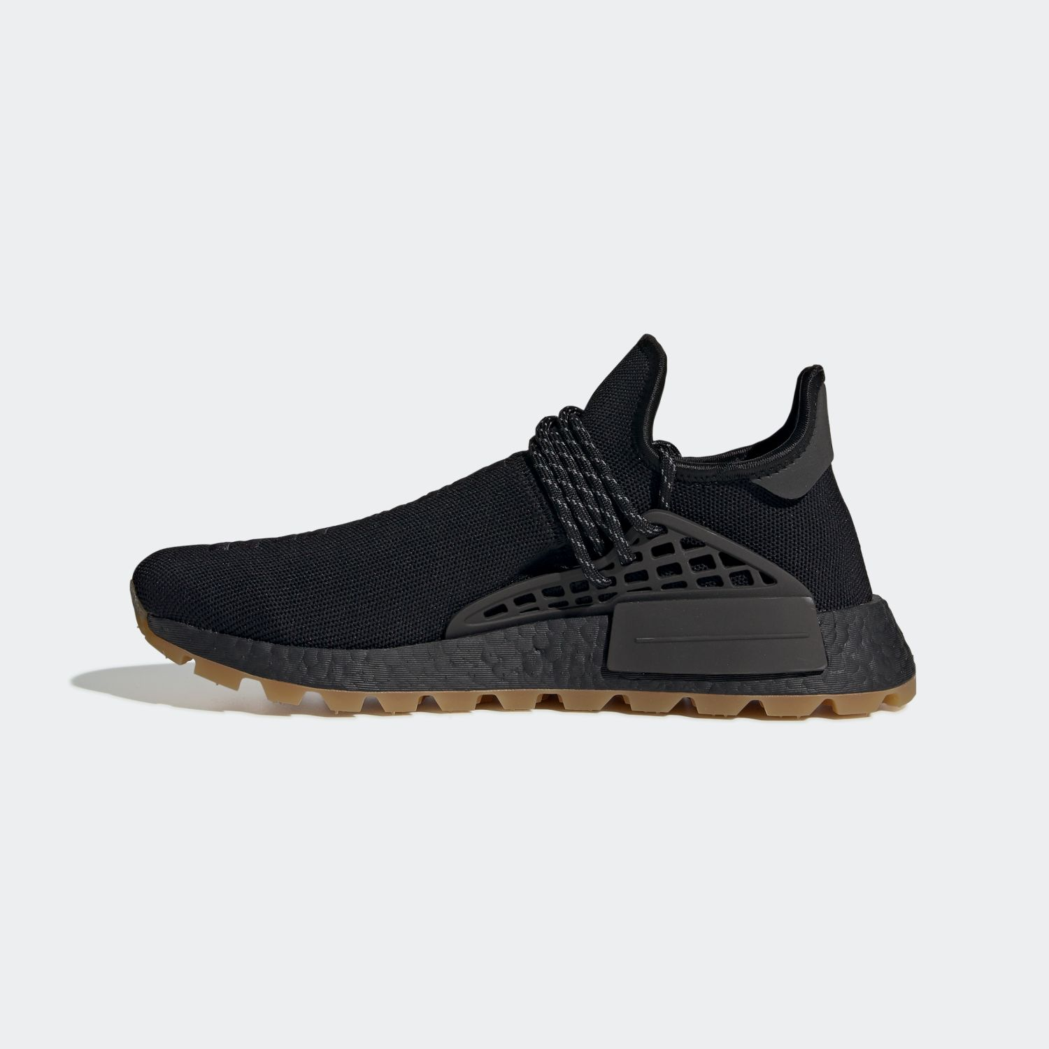 NMD Hu Trail Pharrell Now Is Her Time Black [2]