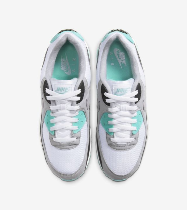 Air Max 90 Hyper Turquoise/Particle Grey [3]