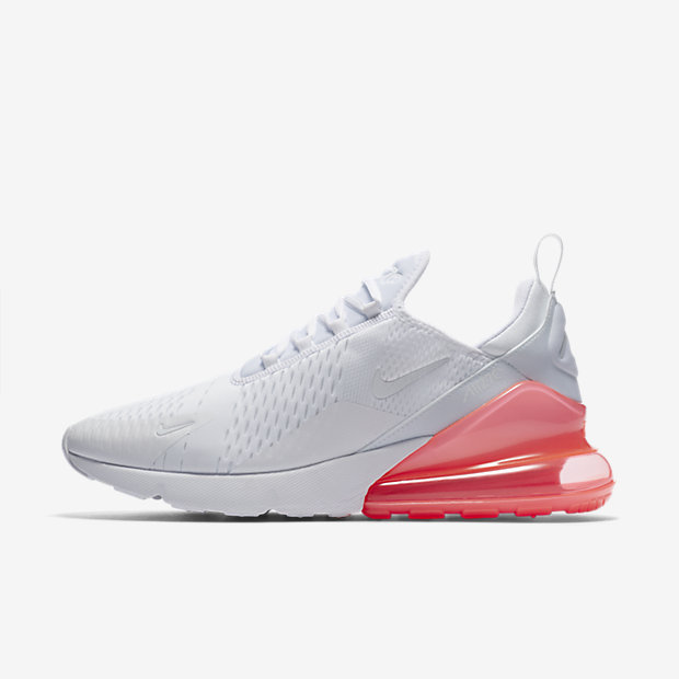 Air Max 270 White Pack (Hot Punch)