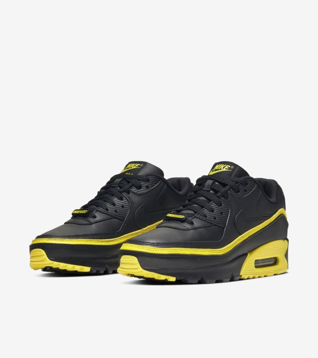Air Max 90 Undefeated Black/Opti Yellow [4]