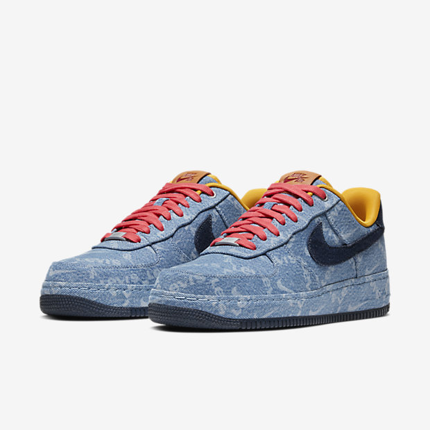 Air Force 1 Low Levis Exclusive Denim [4]