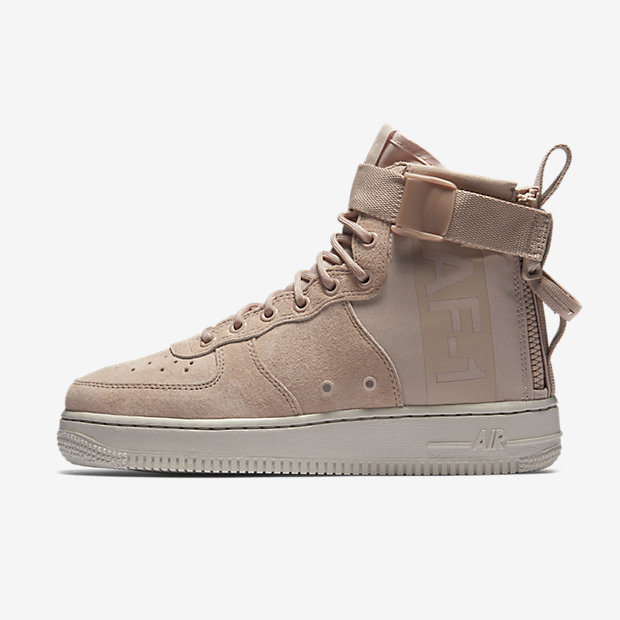 SF Air Force 1 Mid Particle Beige (ウィメンズ)