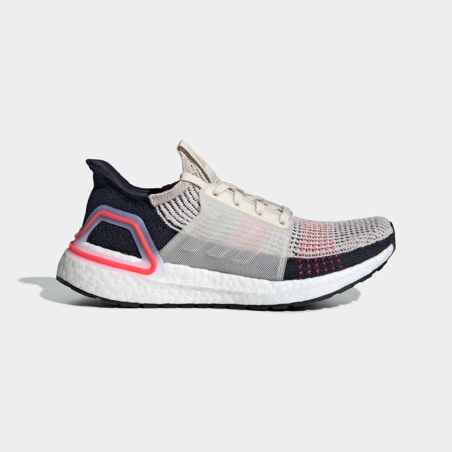 Ultra Boost 2019 Core Black Active Red