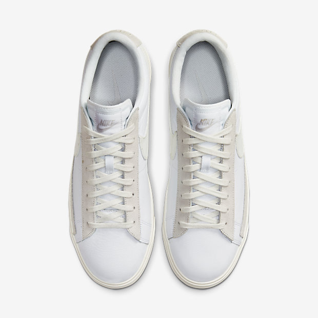 Blazer Low Leather White Sail (ブレーザー) [3]