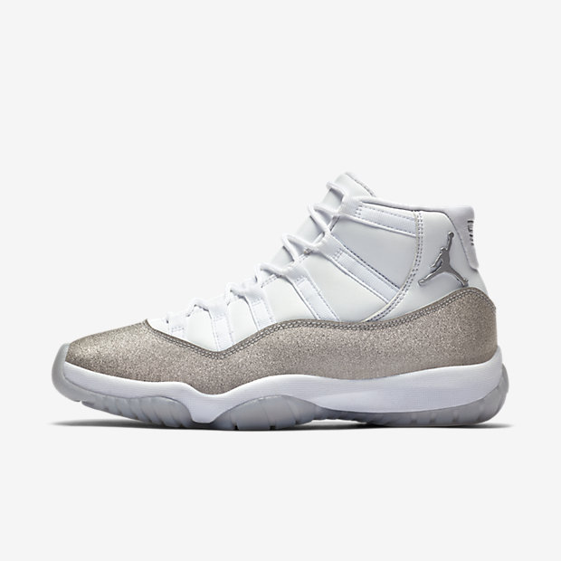Air Jordan 11 Vast Grey/Silver (ウィメンズ) [1]