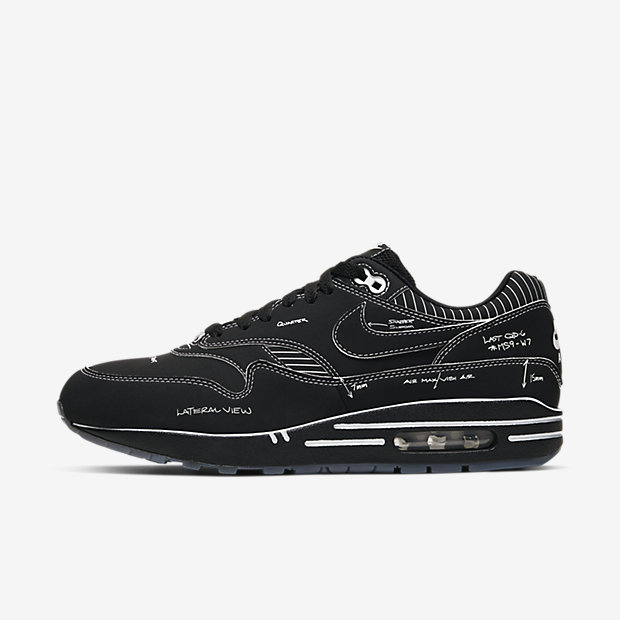 Air Max 1 Sketch to Shelf Black [1]