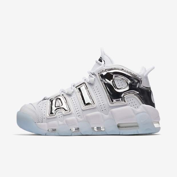 Air More Uptempo Chrome White (モアテン)(ウィメンズ) [1]