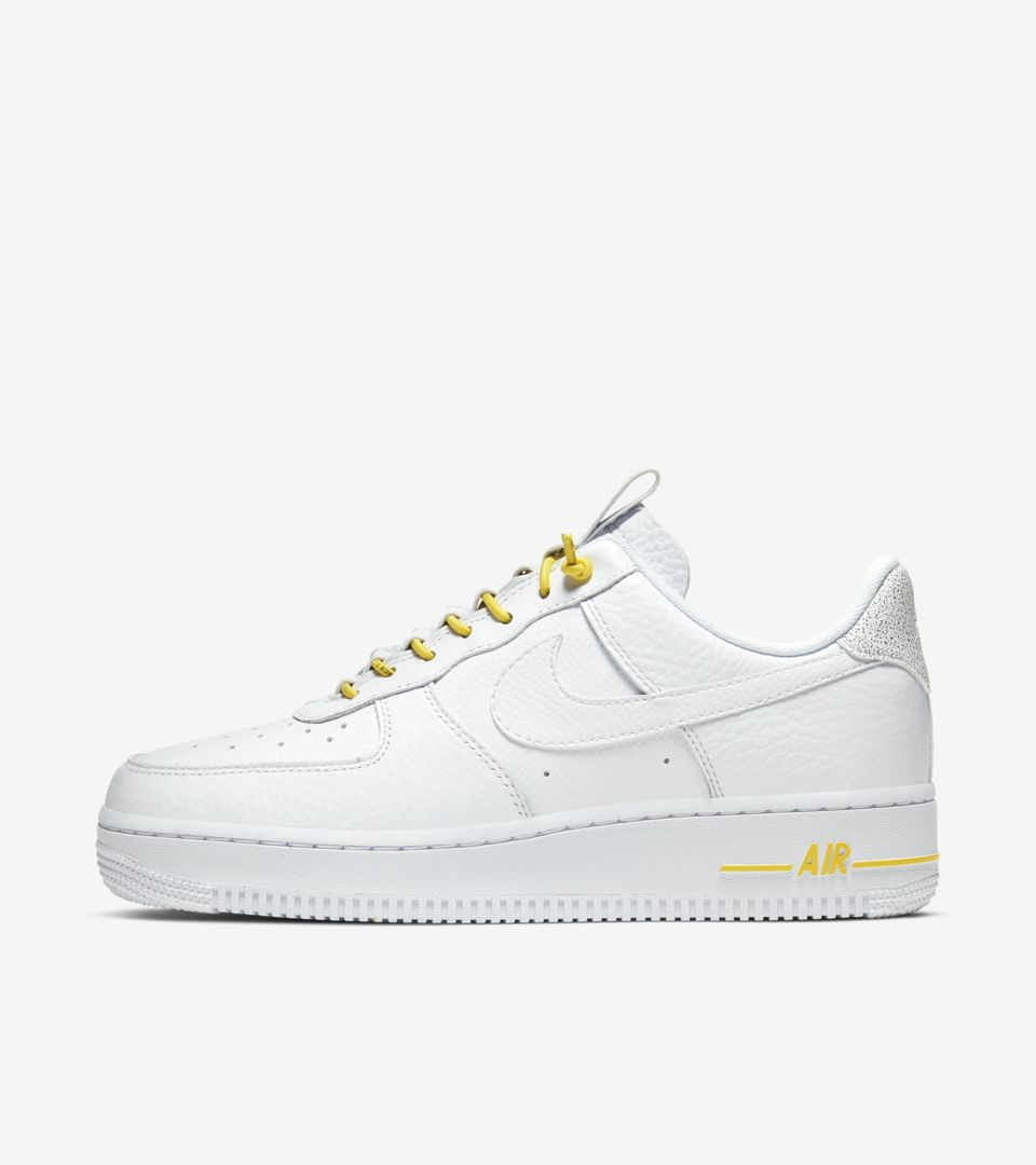 Air Force 1 Lux White/Chrome yellow (ウィメンズ) [1]