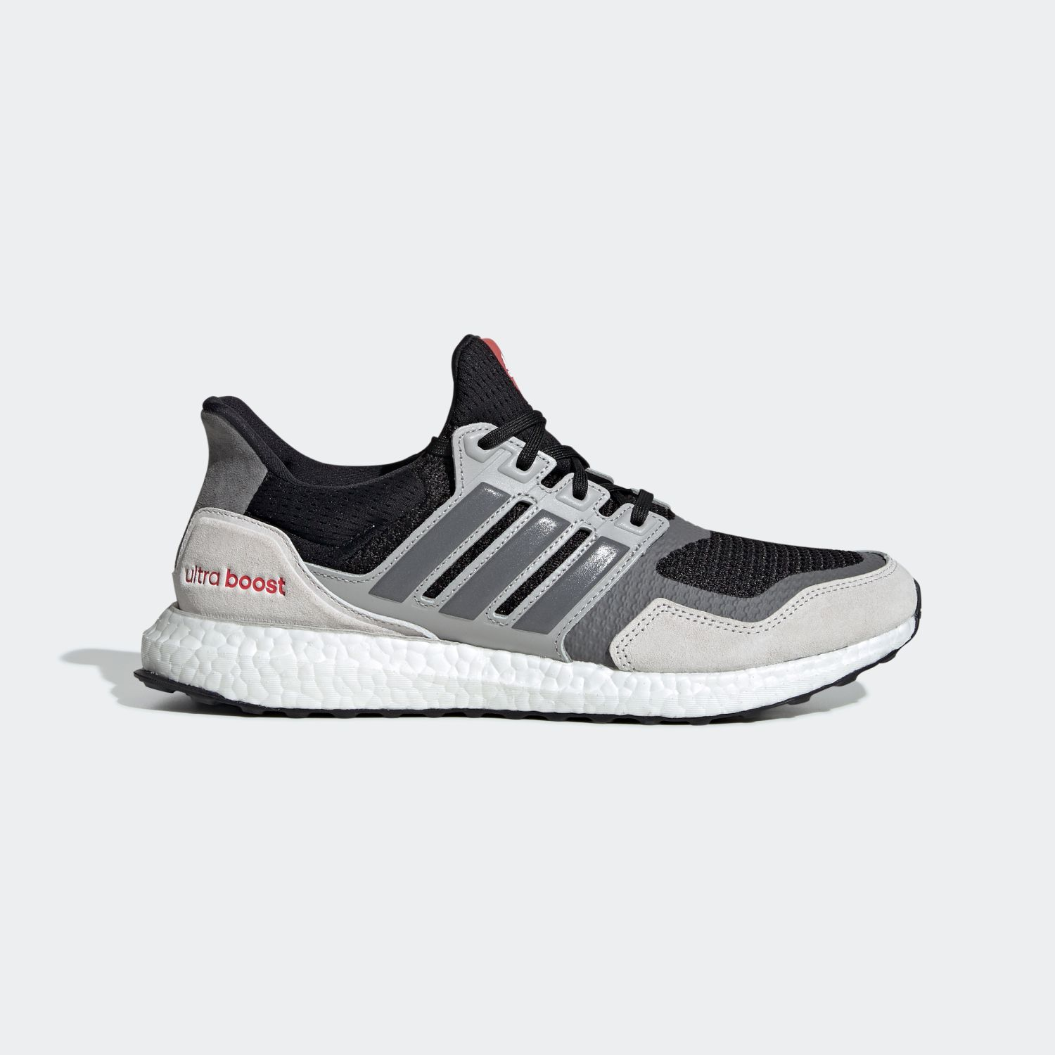 Ultra Boost S&L Black Grey Four Red