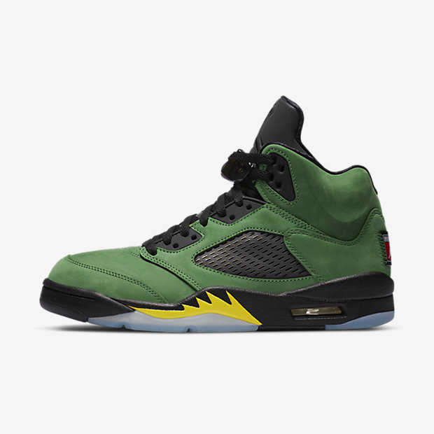 Air Jordan 5 Retro SE Oregon Ducks [1]