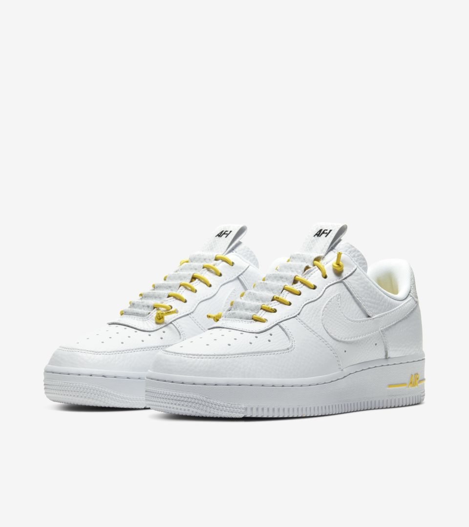 Air Force 1 Lux White/Chrome yellow (ウィメンズ) [4]