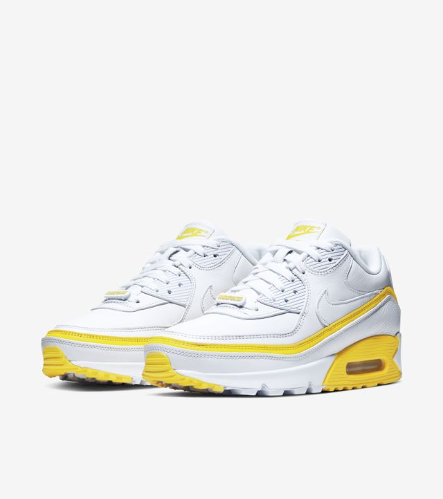 Air Max 90 Undefeated White/Opti Yellow [4]
