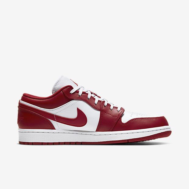 Air Jordan 1 Low Gym Red White [2]