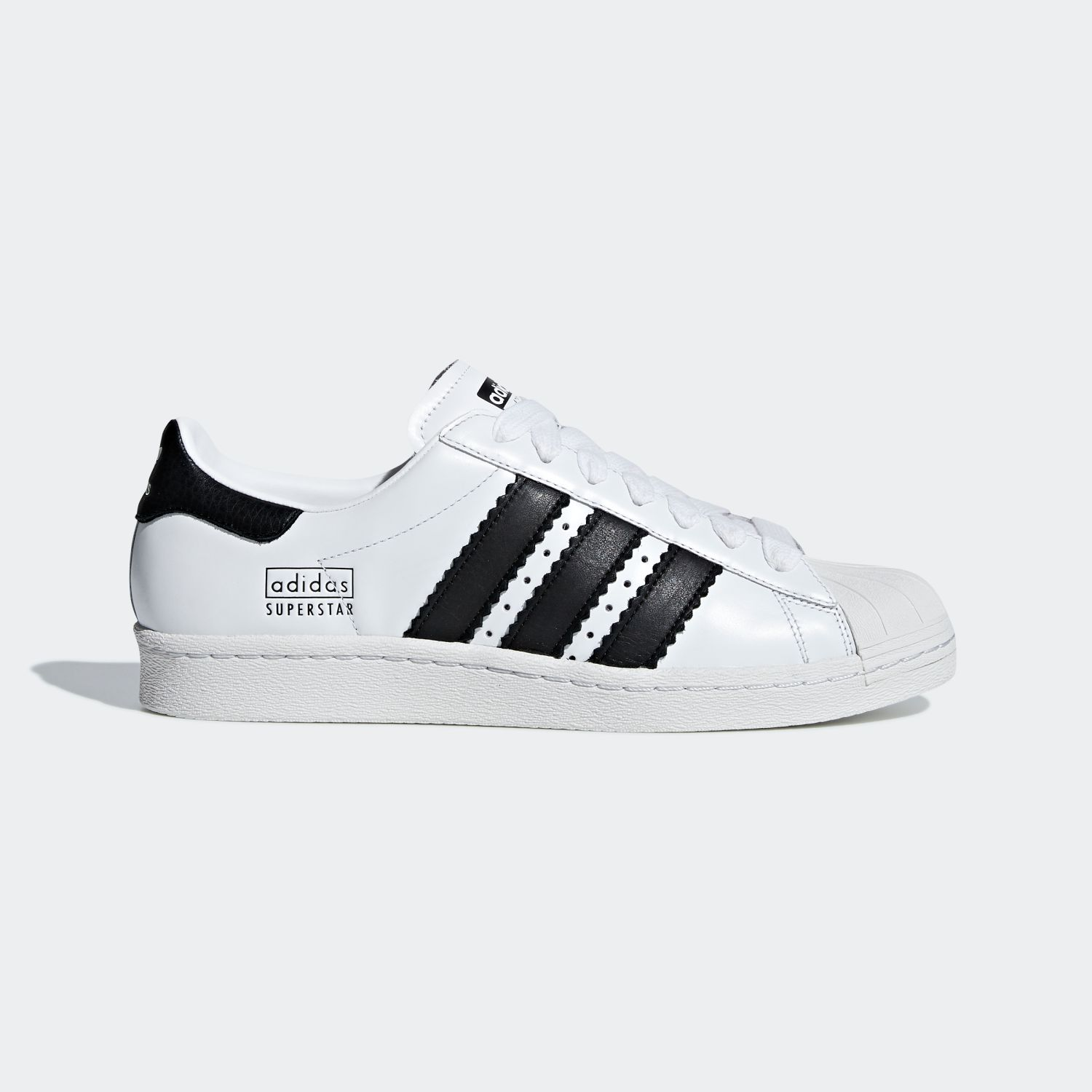 Superstar 80s Enlarged Stripes White