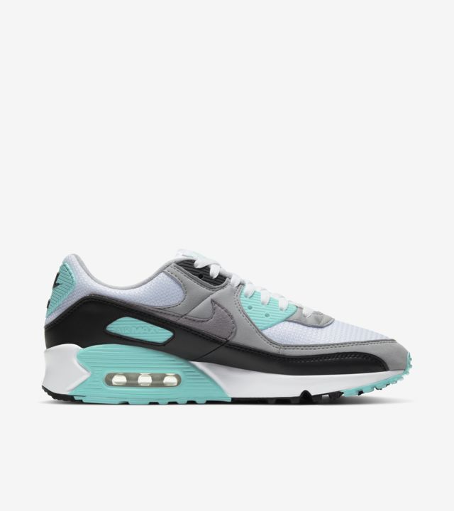 Air Max 90 Hyper Turquoise/Particle Grey [2]