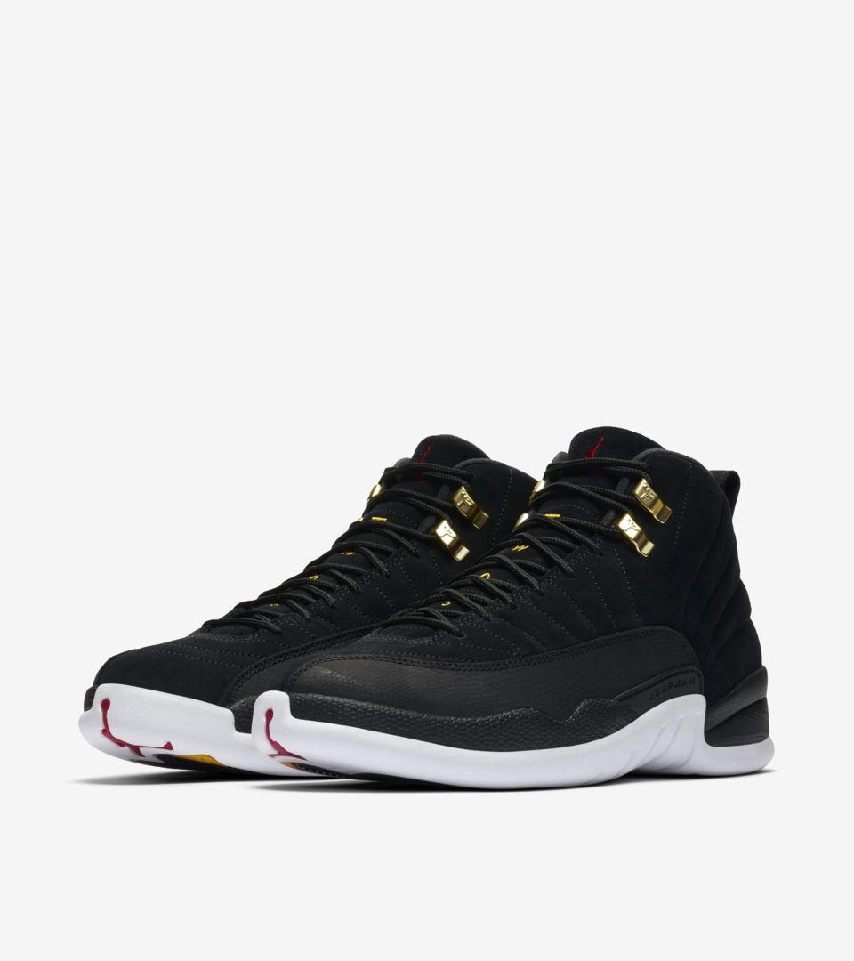 Air Jordan 12 Black/White [4]