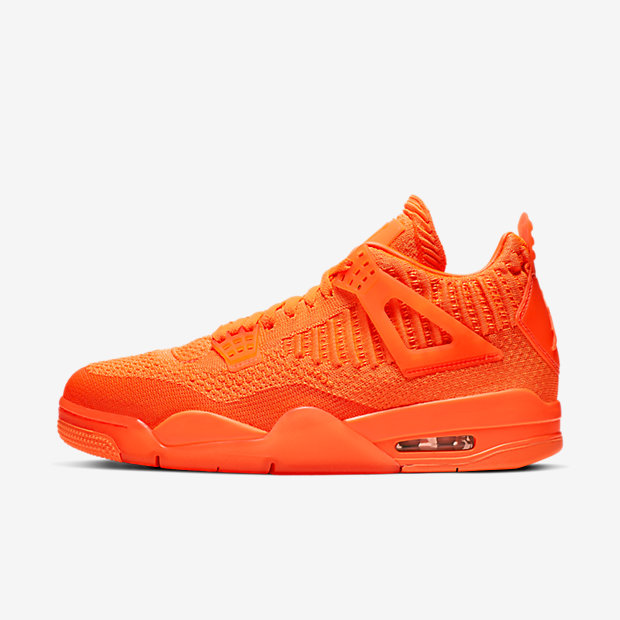 Air Jordan 4 Retro Flyknit Orange