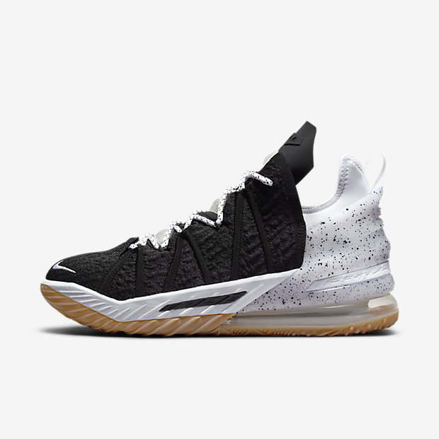 LeBron 18 Gum Medium Brown
