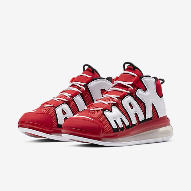 Air More Uptempo 720 University Red White Black(モアテン) [3]