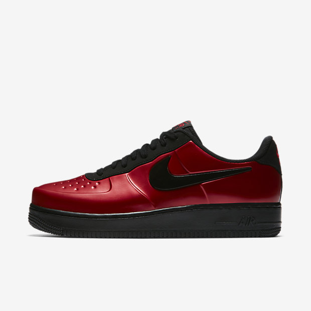 Air Force 1 Foamposite Pro Cup Gym Red Black