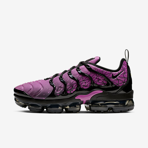 Air VaporMax Plus Geometric Active Fuchsia Black