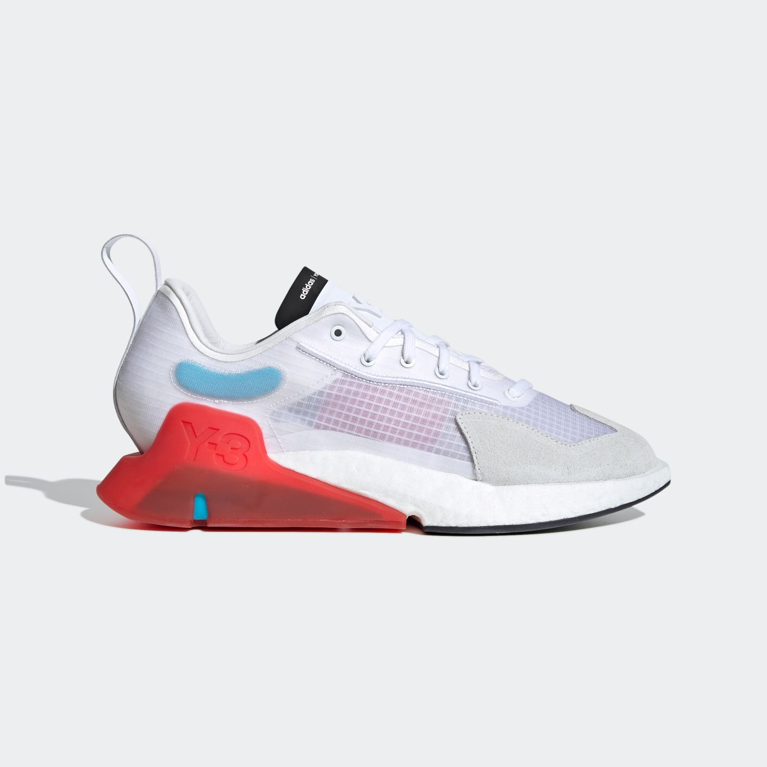 Y-3 ORISAN Core White / Red [1]