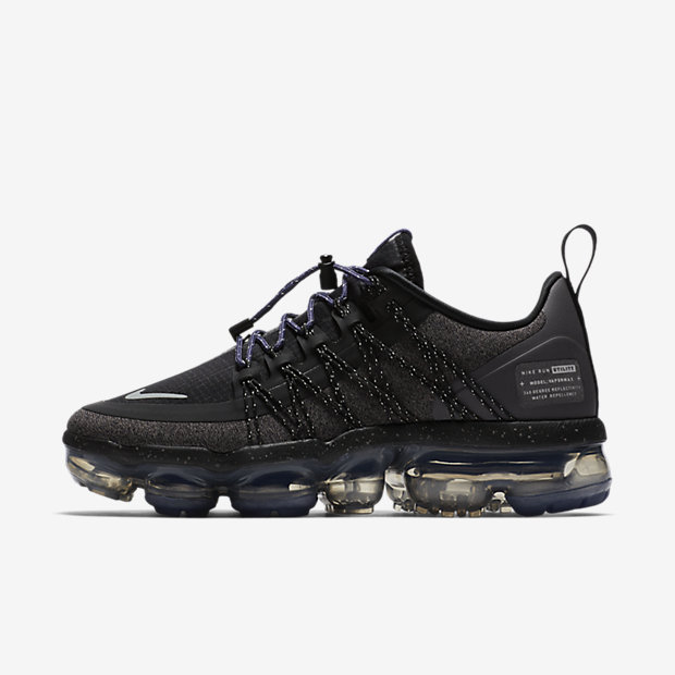 Air VaporMax Run Utility Black Reflect Silver (ウィメンズ)