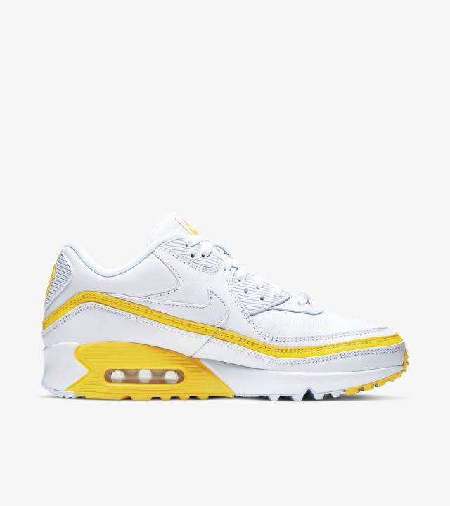 Air Max 90 Undefeated White/Opti Yellow [2]
