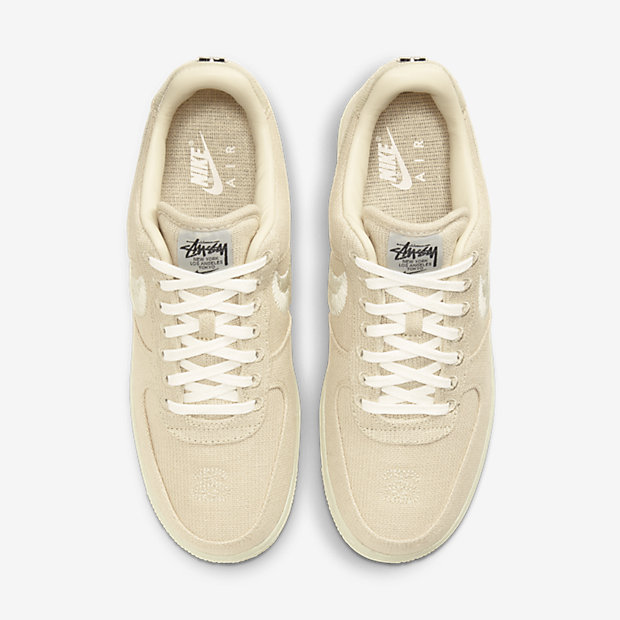 Stussy x Air Force 1 Fossil [3]