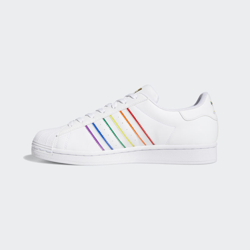 Superstar Pride Shoes Cloud White [2]