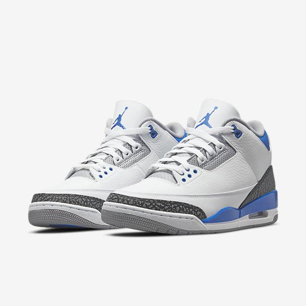 "Air Jordan 3 ""Racer Blue"" [4]"