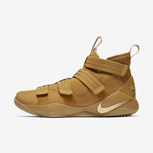 LeBron Zoom Soldier 11 Wheat