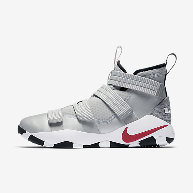 LeBron Zoom Soldier 11 Silver Bullet