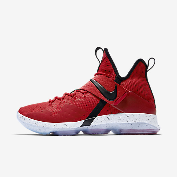 LeBron 14 University Red