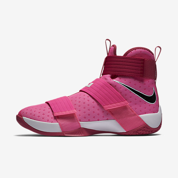 LeBron Zoom Soldier 10 Think Pink