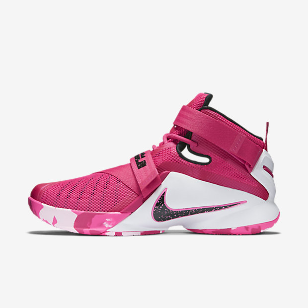 LeBron Zoom Soldier 9 Think Pink